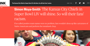 The Kansas City Chiefs in Super Bowl LIV will shine. So will their fans' racism.