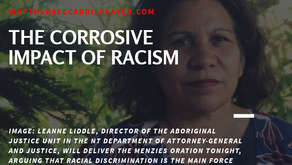 The Corrosive Impact of Racism