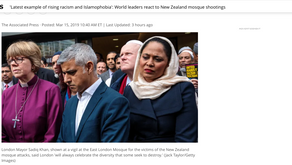 'Latest example of rising racism and Islamophobia': World leaders react to New Zealand mosque shooti