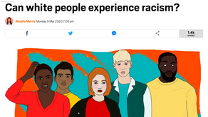 Can white people experience racism?