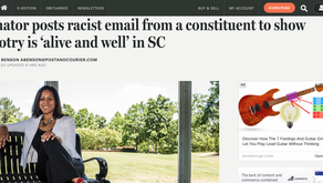 Senator posts racist email from a constituent to show bigotry is 'alive and well' in SC