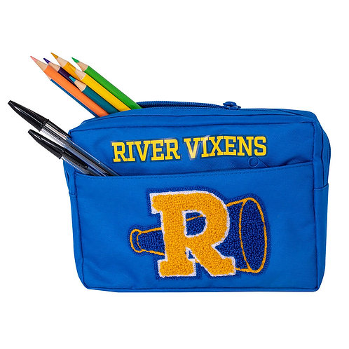Riverdale Multi Pocket Pencil Case