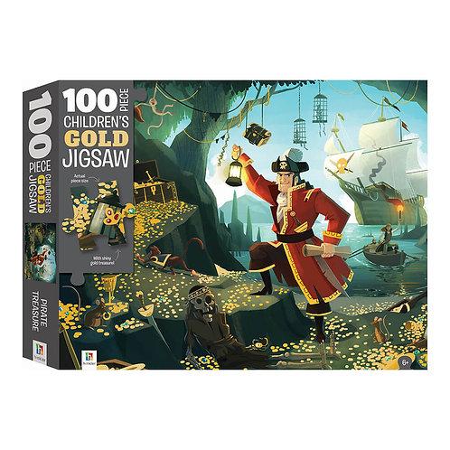 Ο Θησαυρός των Πειρατών – Παζλ με Χρυσοτυπία 100 κομματιών