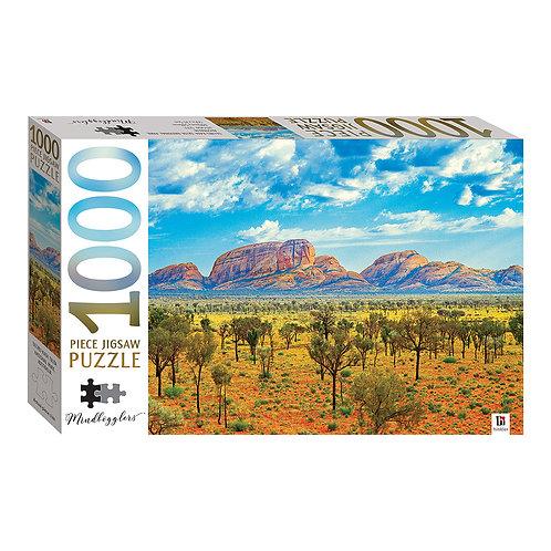 Uluru-Kata Tjuta National Park, Australia 1000p