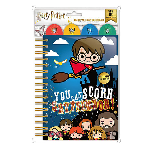 Harry Potter LED Light Up Notebook – You Can Score