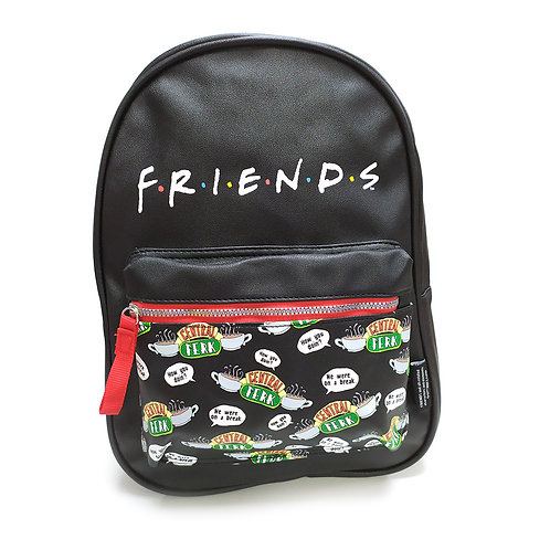 Friends PU Leather Backpack