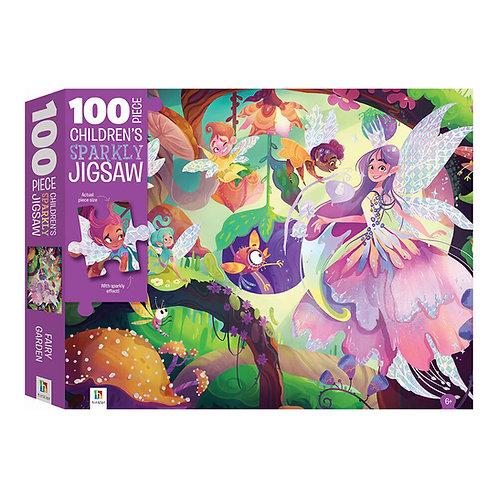 O Κήπος Των Νεράιδων – Παζλ με Ολογραφικά 100 Κομματιών