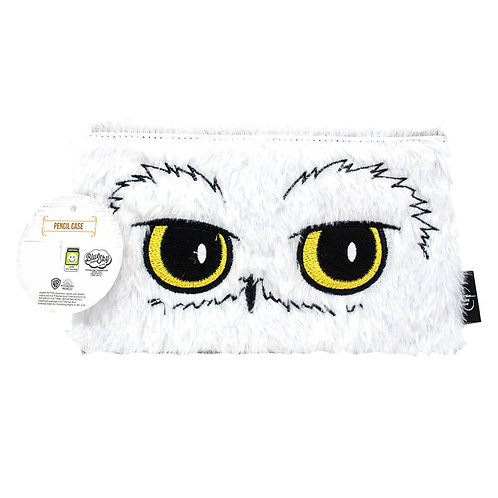 Harry Potter Hedwig plush flat pencil case – Fur Backed