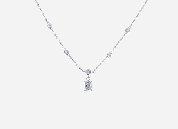 925 Sterling Silver CZ Pendant