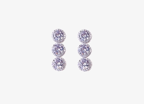 925 Serling Silver Drop Earrings