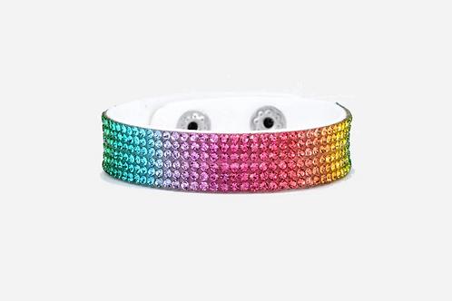 Multi Color Leather Bracelet