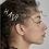 Thumbnail: 5PC Custom Silver CZ Hair Pins