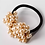 Thumbnail: Retro Pearl Beads Elastic Hair Scrunchie