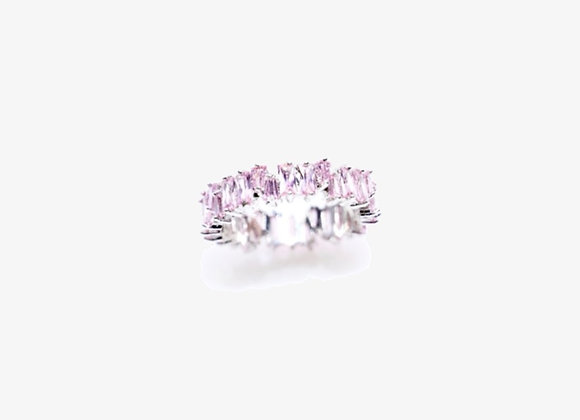 Pink Stackable Eternity Band