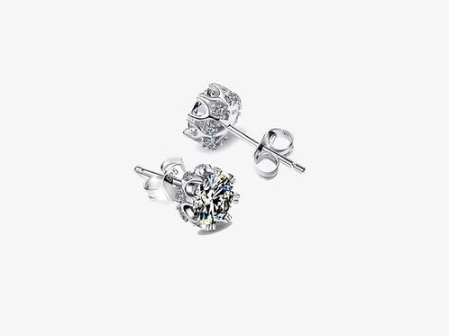 925 Cubic Zirconia Stud Earrings