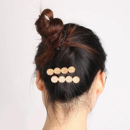 Druzy Hair Clip