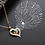 Thumbnail: Gold Heart Projection Necklace