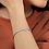 Thumbnail: 14K White Gold Moissanite Heart Bracelet