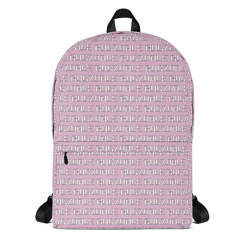 All-Over Print Backpack (Pink)