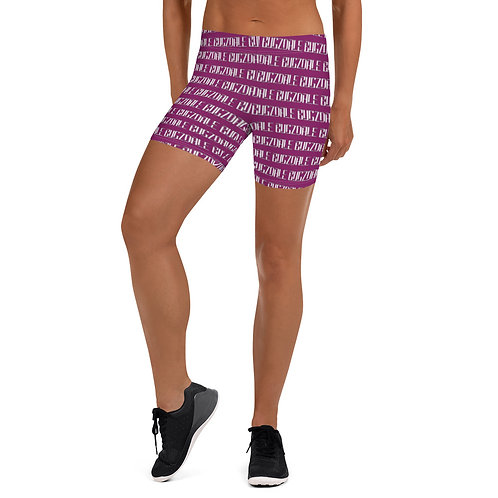 Print all over Shorts (Plum)
