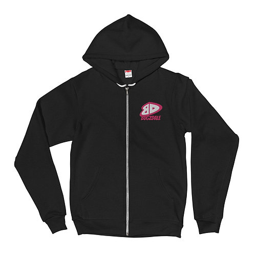 BD Pink Zip up Hoodie