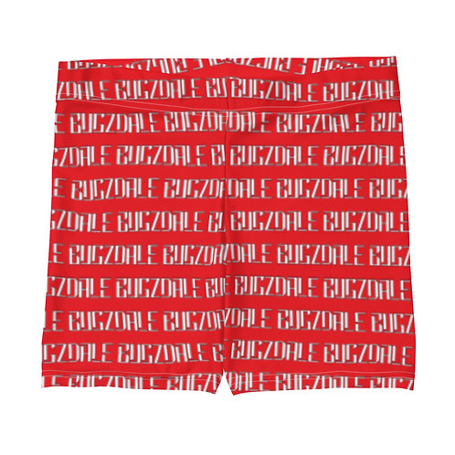 Bugzdale all over Shorts (Red)