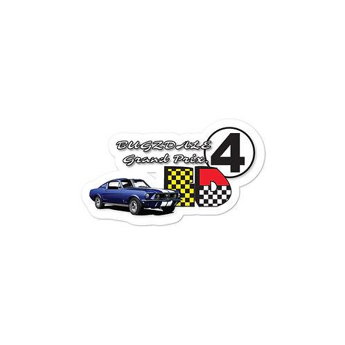 Grand Prix Bubble-free stickers
