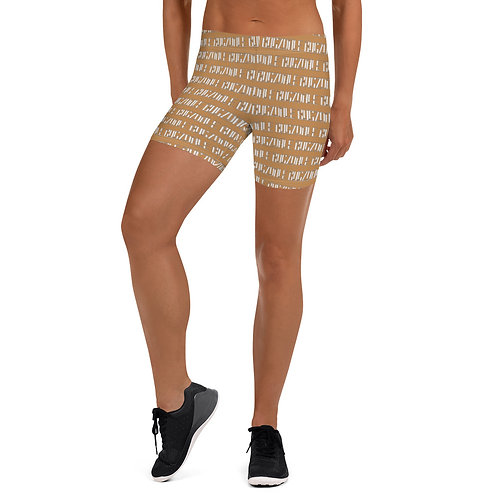 Print all over Shorts (Nude)