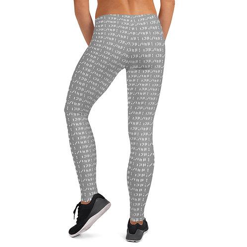 Print all over Leggings (Grey)