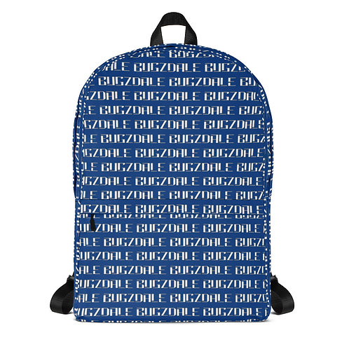 All-Over Print Backpack (Blue)
