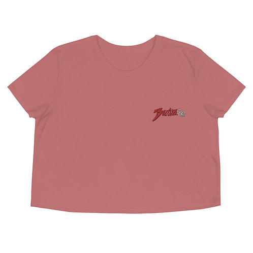 BUGZDALE Embroidered  Crop Tee