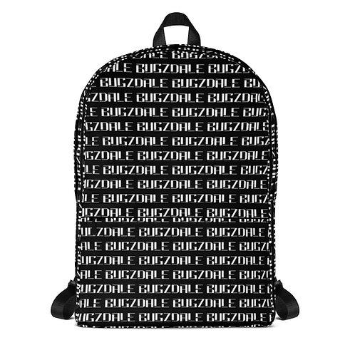All-Over Print Backpack (Black)