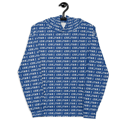 All-over Print Unisex Hoodie (Blue)
