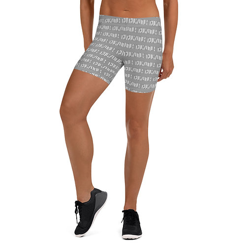 Print all over Shorts (Grey)