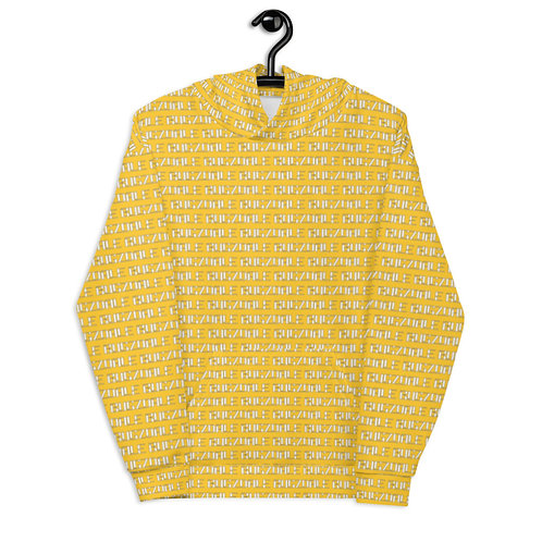 All-over Print Unisex Hoodie (Yellow)