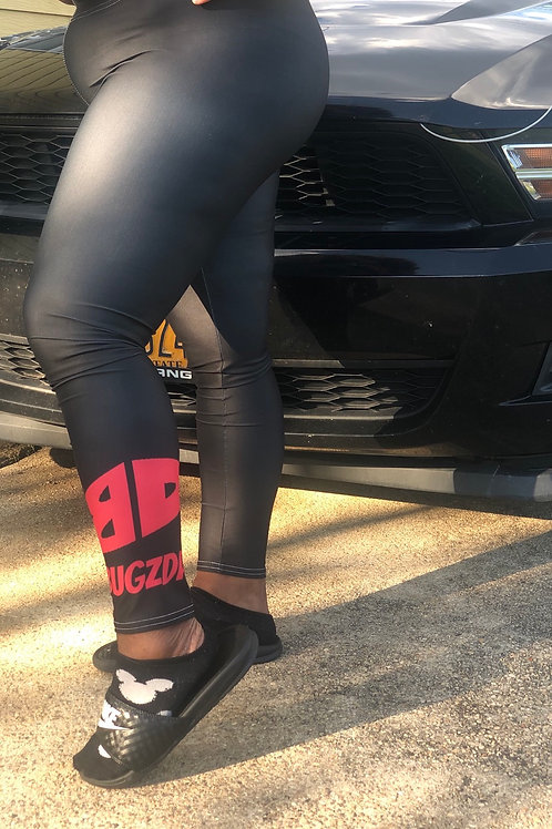 BD Leggings (Black+Red)