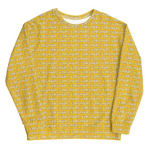 All-Over Print Sweatshirt (Yellow)
