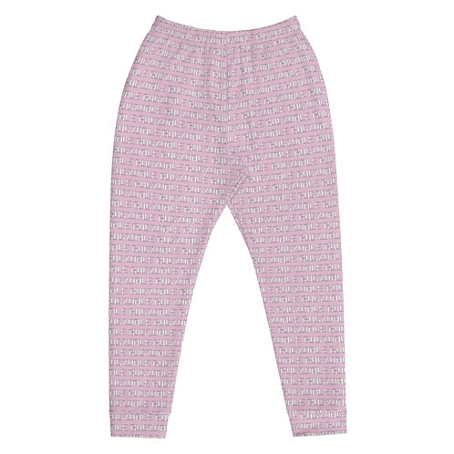 All-Over Print Joggers (Pink)