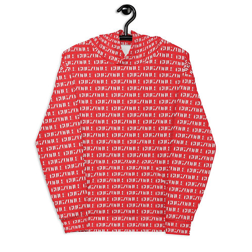 All-over Print Unisex Hoodie (Red)
