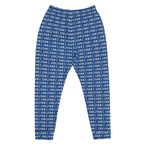 All-Over Print Joggers (Blue)
