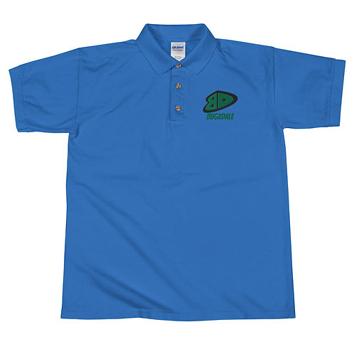 BD Green Embroidered Polo