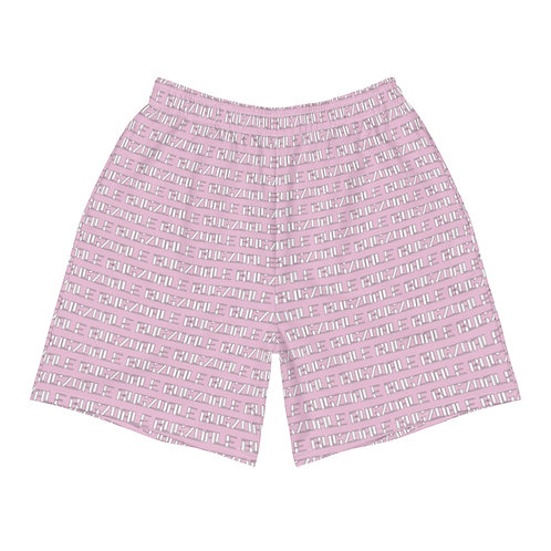 All-Over Print Men's Shorts (Pink)