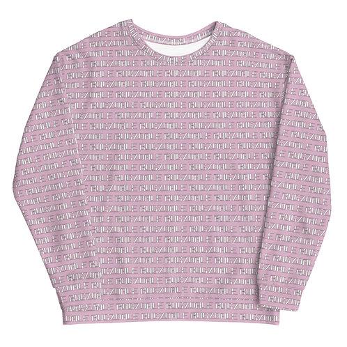 All-Over Print Sweatshirt (Pink)