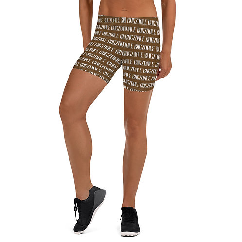 Print  all over Shorts (Chocolate)