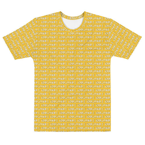 All-Over Print T-shirt (Yellow)