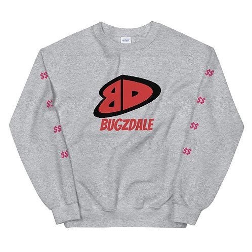 BD Red Unisex Sweatshirt