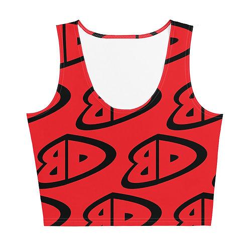 BD Crop Top (Red)