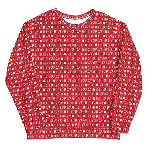 All-Over Print Sweatshirt (Red)