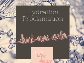 The Hydration Proclamation