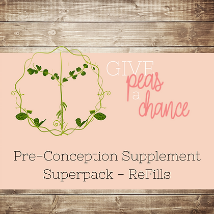 Pre-Conception Pack - Refill Months
